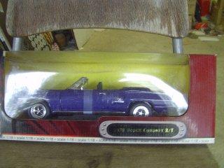 1/18 Dodge Coronet R/T 1970 avo