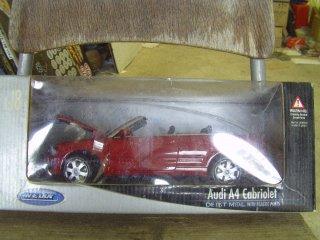 1/18 Audi A4 Cabriolet